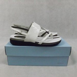 NEW Womens LIFESTRIDE Sandals - White - Sz 8W
